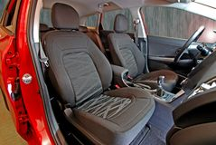 Front car seats Stock Image