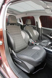 Front car seats Stock Images