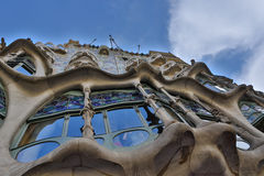 Front of Casa Batlló Stock Photography