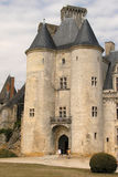 Front of the castle in la Rochefoucault ( France) Stock Images