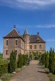 Front of the castle of Vorden in Gelderland Stock Image