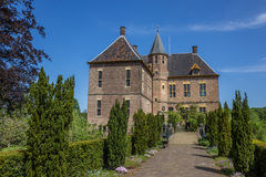 Front of the castle of Vorden in Gelderland Stock Images