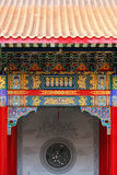 Front Chinese Temple Royalty Free Stock Photography