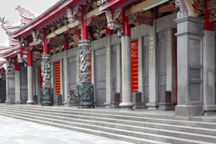 Front of a chinese temple Royalty Free Stock Photo