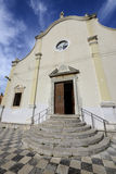 Front of the church of the Annunciation of the Blessed Virgin Ma Royalty Free Stock Photos