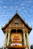 Front of the church, Thailand. Royalty Free Stock Photo