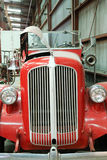Front of Classic Antique Fire Truck Royalty Free Stock Image