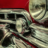 Front of a classic car Royalty Free Stock Images