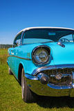 Front of a classic chevrolet Bel Air Stock Photography