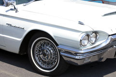 Front Classic Ford Thunderbird Roadster photos stock