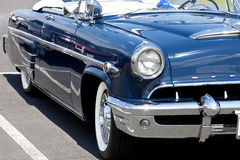 Front Classic Lincoln Mercury bil Royaltyfria Foton