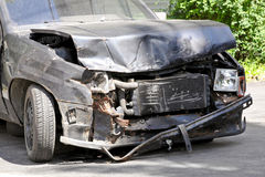 Front collision Royalty Free Stock Photos