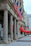Front columns at historic Fairmont Hotel,Boston Royalty Free Stock Photo