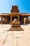Courtyard Front Stone Sri Krishna Temple Hampi Stock Photos