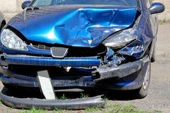 Front crash Stock Image