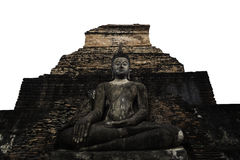 Front der alten Pagode Buddha-Whit Stockfoto