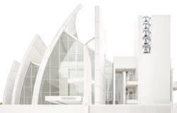 Front der Jubiläum-Kirche Lizenzfreies Stockbild