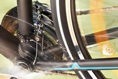 Front Derailleur And Back Wheel Fotografia Stock