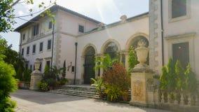 Front des Haupthauses, Landhaus Vizcaya Stockfoto