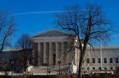 Front des U S Höchstes Gericht lizenzfreie stockfotos