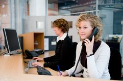 Front desk Royalty Free Stock Photos