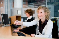 Front desk Stock Photography