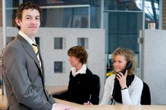 Front desk Royalty Free Stock Photo