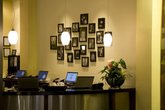 Front desk office Royalty Free Stock Photo