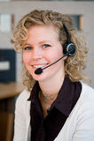 Front desk worker Royalty Free Stock Photography