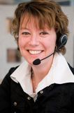 Front desk worker Stock Photography