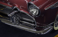 Front of a Desoto Classic Car Stock Image