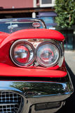 Front Detail of American Classic Car Royalty Free Stock Photo