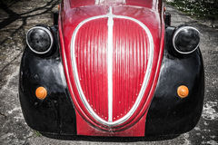 Front Detail Fiat 500 Topolino Stock Photo