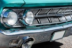 Front Detail van Amerikaanse Klassieke Auto royalty-vrije stock afbeelding