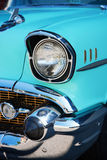 Front Detail of a Vintage Car Royalty Free Stock Photography