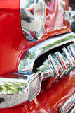 Front Detail of a Vintage Car Royalty Free Stock Images