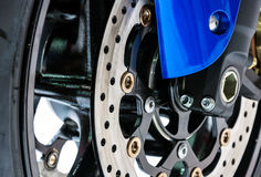 Front disk brake Royalty Free Stock Photo