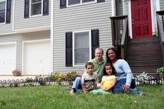 front domu Fotografia Royalty Free
