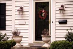 front domu wejścia Zdjęcia Royalty Free