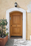 Front door. Royalty Free Stock Image