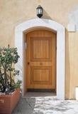 Front door. Royalty Free Stock Image