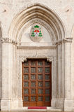 Front door. Of Vicenza's cathedral downtown Stock Photo