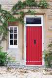 Front Door. Of an Old English Cottage Royalty Free Stock Photos