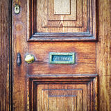 Front door Stock Photography