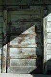 Front door. Old front door in the town of Locke Royalty Free Stock Images