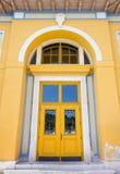 Front Door av en offentlig byggnad Royaltyfri Foto