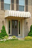 Front Door Awning Stock Images