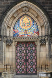Front door of basilica of St Peter and St Paul Royalty Free Stock Photo