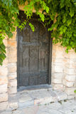 Front door. Of a beautiful brick house Stock Photography