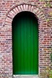 Front Door. Of a Beautiful Red Brick House Stock Photos